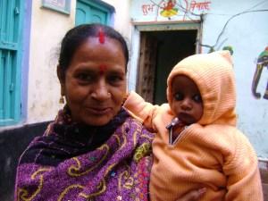 Indian madonna and child, Annabel Landaverde